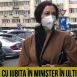 Iubita lui Vlad Voiculescu, prinsă acum de RomâniaTV ieșind din ministerul Sănătății cu geanta plină cu tablouri și valută!
