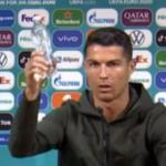 Ronaldo, persona non grata în Moldova după ce a încurajat consumul de apă