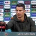 Asta înseamnă să fii influencer: acțiunile Coca-Cola au scăzut cu 4 miliarde de dolari după ce Ronaldo a îndepărtat două sticle din fața sa