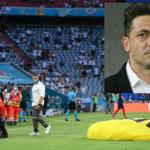 Parapantistul care a aterizat pe gazon la meciul Franţa – Germania era Mirel Rădoi! A fost singura lui șansă să ajungă la Euro!