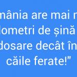 Unde se află rezerva de șină a României