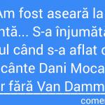 Prăbușirea darului după Van Damme