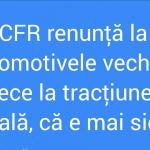 Modernizare la CFR