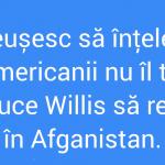 Să intervină Bruce Willis!