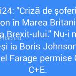 Îi rezolvă Boris și Nigel