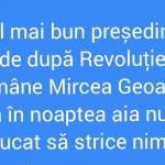 Geoană the best